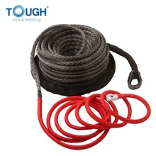 12000lbs 12V 4x4 off-road electric winch used synthetic electric winch rope with accessories as finished set
