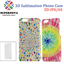 China Supplier 3D Customized Cell Phone Cover, Blank Sublimation Mobile Phone Case Cover for iPhone 6/6S, 4.7 inch