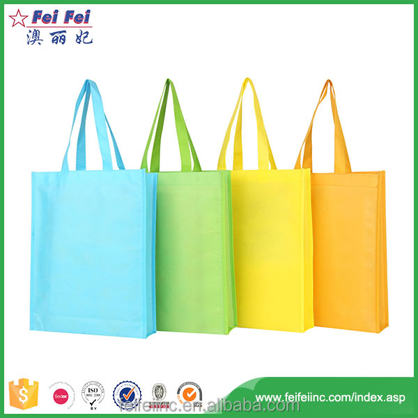 Top Quality selling Colors non-woven Shopping Bags With Company Logo