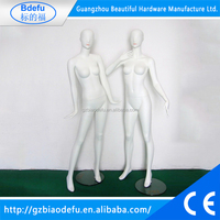 Clothing Shop Display Fashion White Cheap Full Body Female Mannequins
