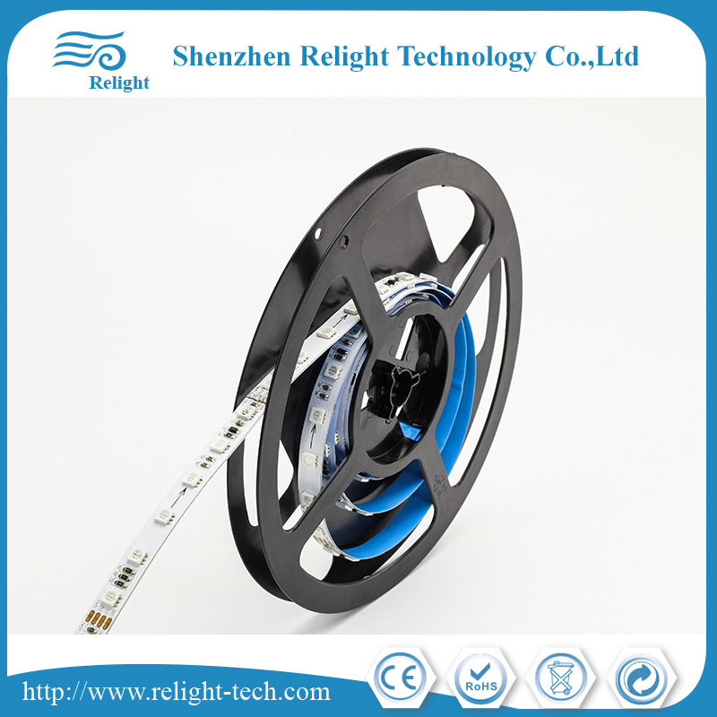 Individually addressable RGBW led strip long lifetime