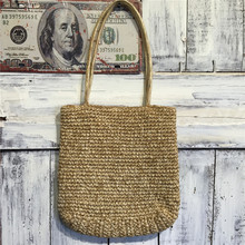 2017 recycled natual mexico mini straw beach bag