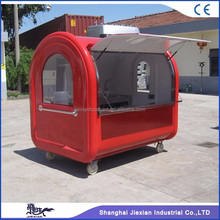 2017 Jiexian Super quality hand push mobile food van for sale JX-FR220 A