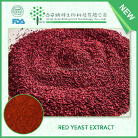 ISO Manufacturer Wholesale Red Yeast Rice Extract 2% monacolin K CAS NO 75330-75-5