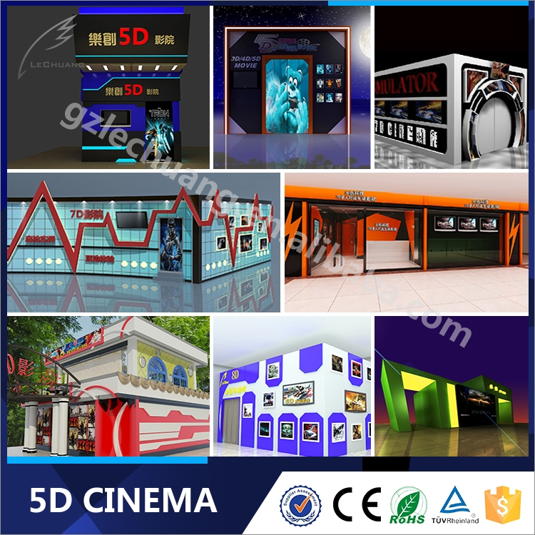 2015 New Product Amusement Park Games Used 3D 4D 5D 7D 9D Cinema Theater 8D Movie Theater Equipment
