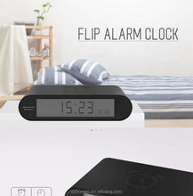 Modern Luxury Flip Desk Digital Alarm Clock
