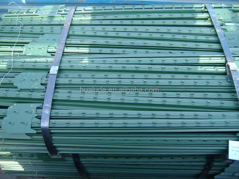 metal t post of low carbon steel