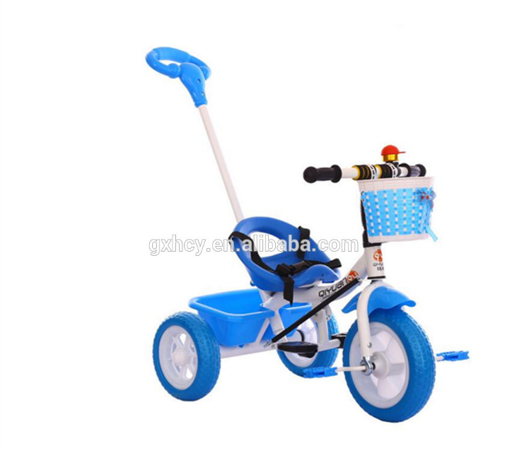 Amazon hot child tricycle bike /baby walker tricycle /baby tricycle with push handle