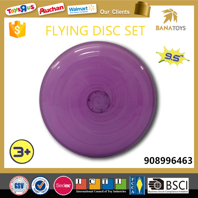 Plastic mini magic flying disc led frisbee