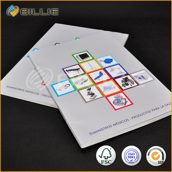 Good Quality Of Advertising Brochure Book Printing