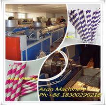 Three Color PP PE Straw Drinking Production Line/Making Machine