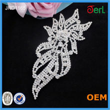rhinestone applique for wedding belts and sashes