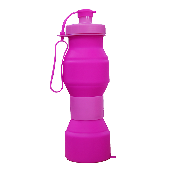 2017 Hot Selling BPA Free Insulated Silicone Folding Water BottleSilicone Folding Water Bottle