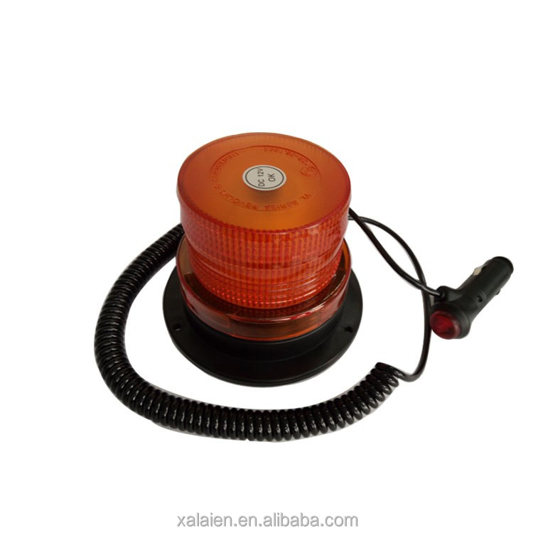 portable magnetic traffic warning LED warning forklift flashing light