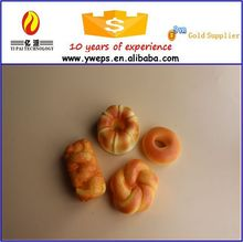 YIWU high quality artificial food/decorative artificial bread/fake bread for sale