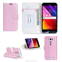 Stylish Design New Product PU+ TPU Leather Wallet Mobile Phone Case Cover with Card Slots for ASUS 500kl