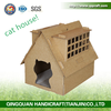 Aimigou cat house folding cardboard house with scratcher