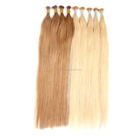 direct buy china high quality full and thick end remy eurasian human i-tip hair extension