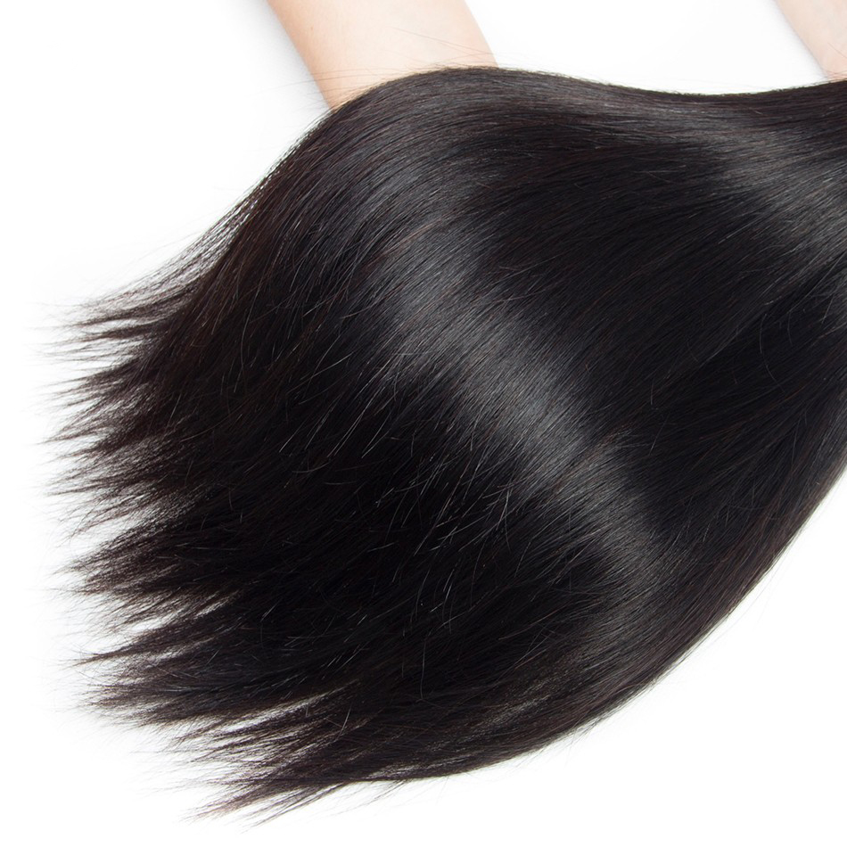 "22 Inch 18"" Virgin Brazilian 7A Grade Mink Silky Straight Weave Hair Extension Inexpensive UK Goddess Hairstyles Sew In"