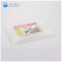 wholesale color particle board wooden board good flexibility silicone cutting board bulk buy from china