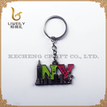 Custom Keychain Manufacturer Metal New York Souvenir Keychain
