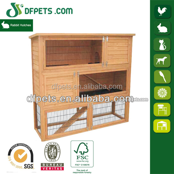 Commercial 3 story layer farming cages puppy house rabbit hutch for sale
