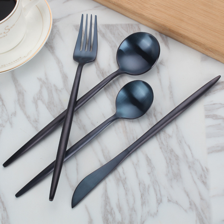 stainless steel dinner spoon,dinner knife and fork catering flatware