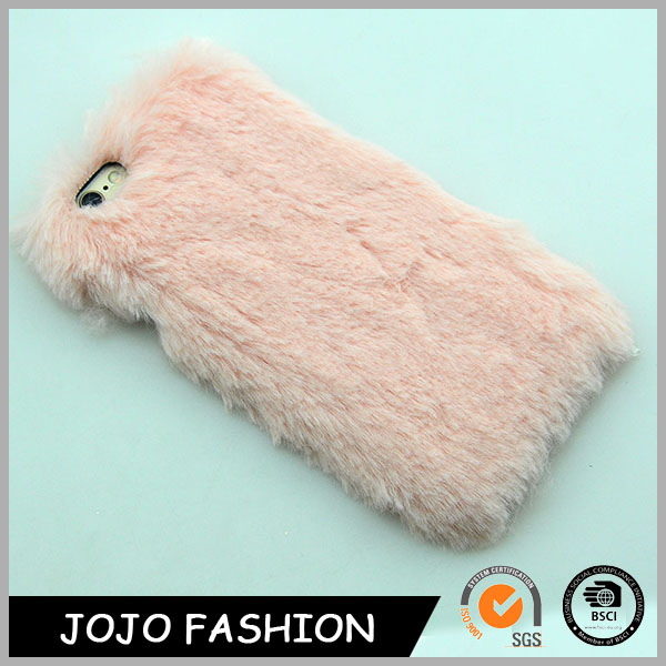 Pink Fur For Winter Jewelry cute phone cover accessories pare celalares mobile phone case