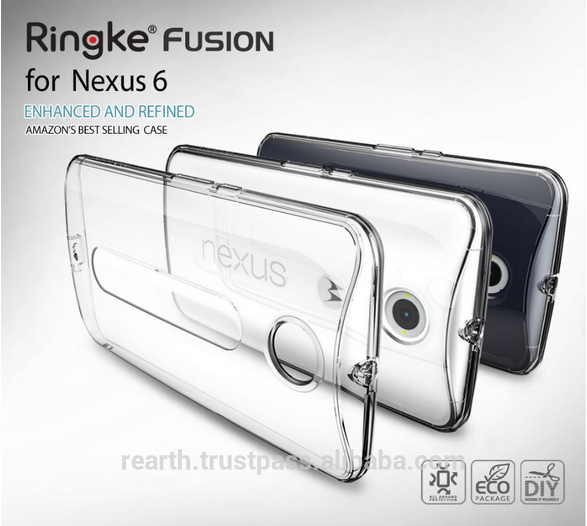 [Rearth] Ringke Fusion Smartphone Case for Nexus 6 & Screen Protector