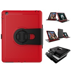 360 Degree Rotating Smart Case With Stand Function For iPad Case