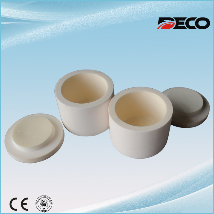 Alumina Ceramic Ball Mill Jar, Alumina Pot for Grinding Mill