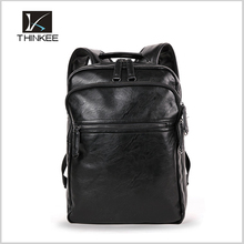 New fashion crazy horse genuine leather camera backpack for factory wholesale