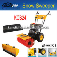 Gas Powered Snow Sweeper Cleaning Machine KCB24