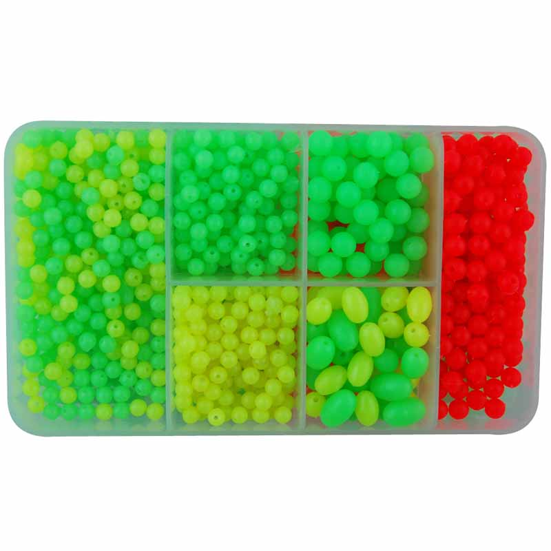Wholesale colorful plastic fishing floating beads JSM01-2005