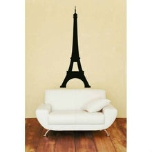 Removable Vinyl Eiffel Tower Wall Decals