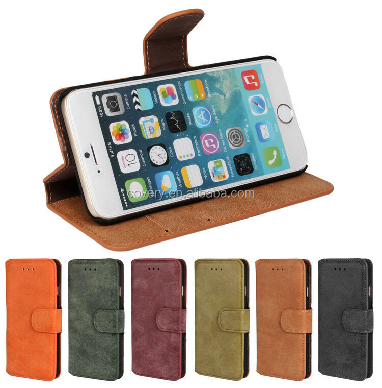 Leather Pouch Belt Clip Case Holster for Apple iPhone 6 4.7'' NEW