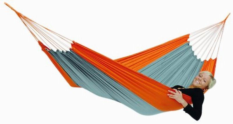 Outdoor double parachute hammock nylon in high quality traveling camping hammock nylon