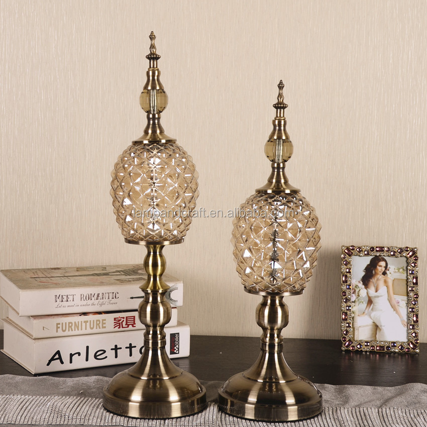 2016 india clear handmade crystal glass home decor with Crystal home decor