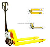 high quality hand pallet truck trolley warehouse palletized drum power lifter