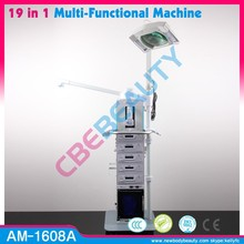 19 in 1 Skin Care Body Beauty Equipment Galvanic and ultrasonic beauty machine