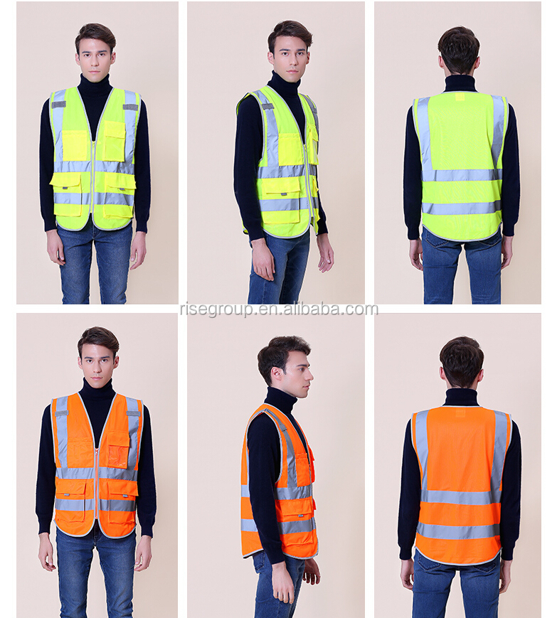 China factory Custom security police reflective vest