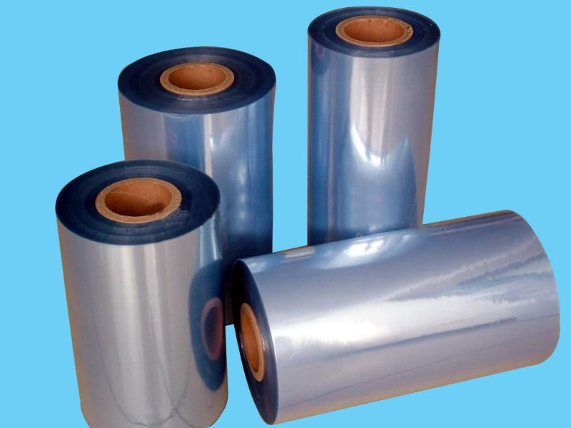 Heat Shrinkable Low Price High Quality PVC Shrink Film For Plastic Label Printing
