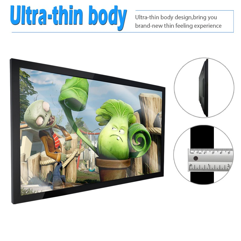 lcd wall mounted wifi advertising video player digital advertising display board