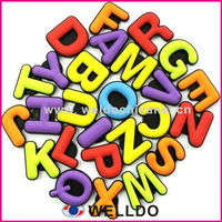 full color educational kids alphabet fridge magnet