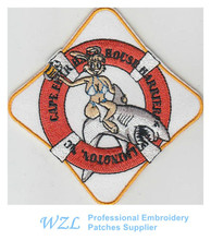 2015 Cheapest Embroidered Patches sew on patch for clothing