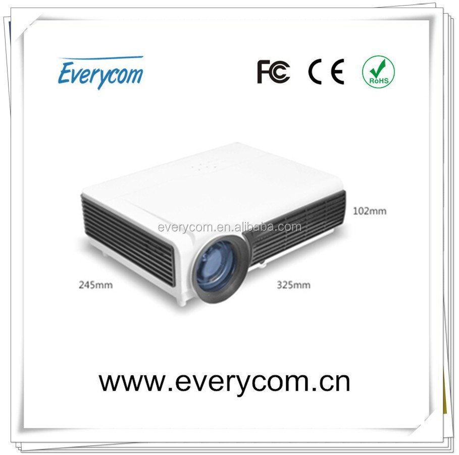 2015 new arrived HOT!! Full HD LED LCD Home Theater Projector 4000 lumens High Brightness For Daytime Use,With Perfect Display