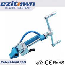 Ezitown HTC Manual steel band tension hand strapping tool for Heavy banding stainless steel cable tie gun