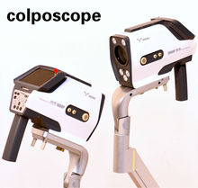 YKD-3001 1080p HD colposcopio video digital colposcopy system with Spanish colposcope software