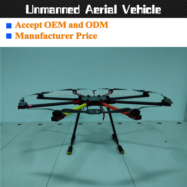 Custom made carbon fiber UAV frame for mini gps drone with camera