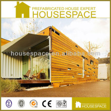 Modern Solid Wooden Cladding Container Homes